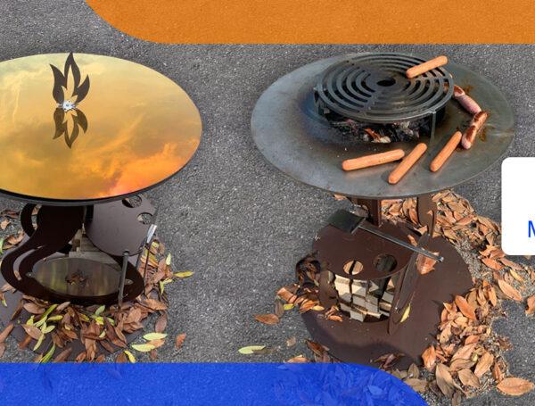 Pratico ed efficiente: è il barbecue ideato da MetalSteel
